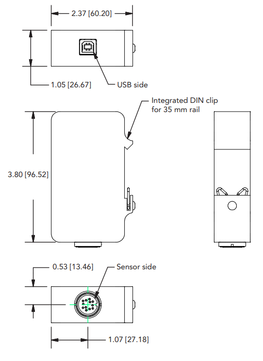 LVDT Signal Conditioning Module