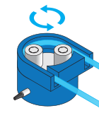 fluid flow rate measurement using load cell non contact flow sensor