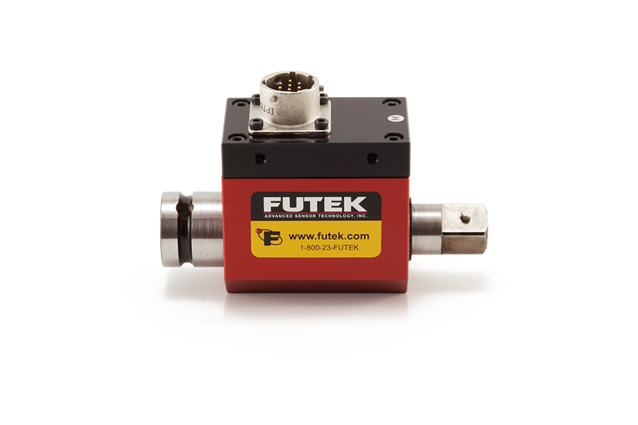 Slip-Ring Square-Drive Rotary Torque Sensor with Encoder